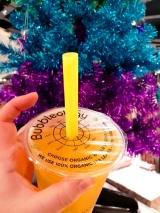 Bubbleology Mango Tea with Lychee Boba (2)